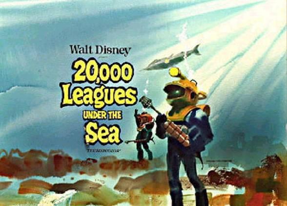 20000 Leagues Under The Sea Concept Art Nautalis
